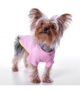 Nun Star Herringbone Baby Pink T-Shirt