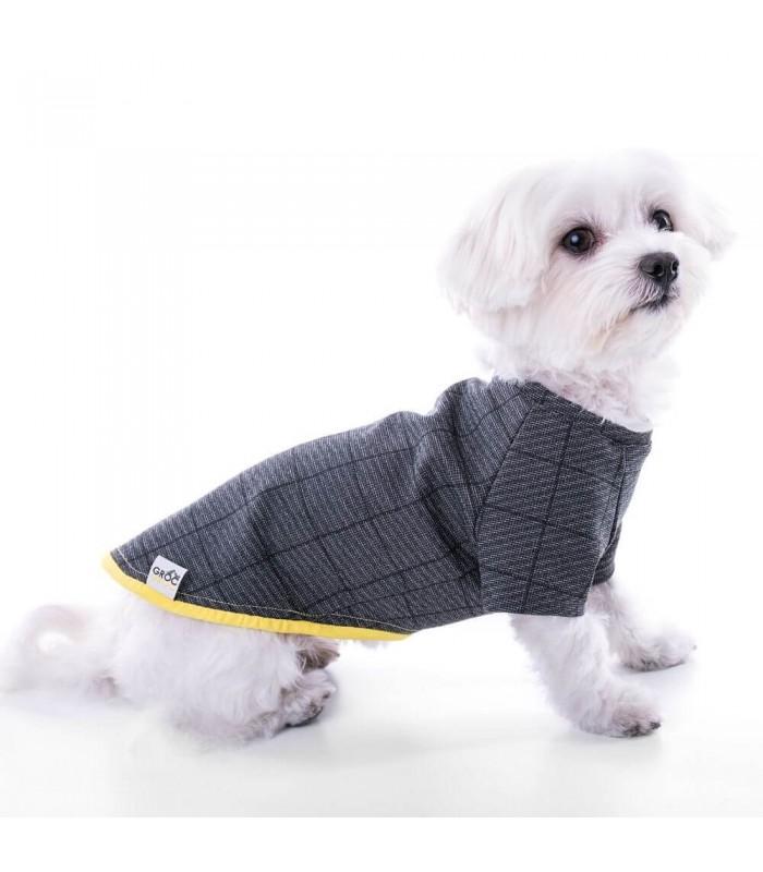 Groc Groc Camiseta Nun Suit Cuadro Gris