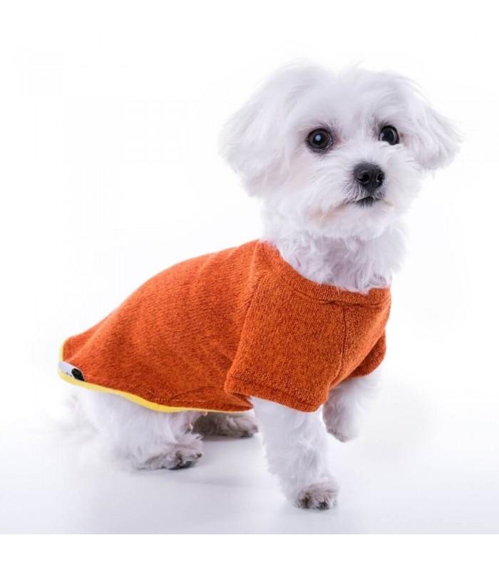 Groc Groc Nun Freeze Orange Sweater