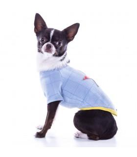 Nun Star Herringbone Baby Blue T-Shirt