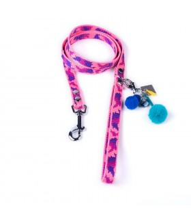 Pink Camouflage Lucky Dog Leash