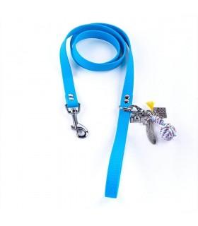 Laisse pour chien Lucky Bleu Ciel