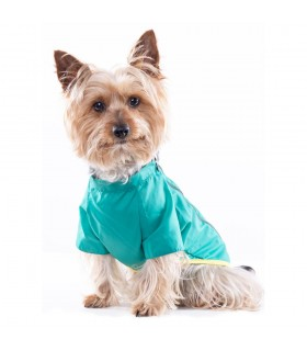Samstag Green Rain Coat