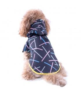 Chispa Black Neosticks Dog Hoodie
