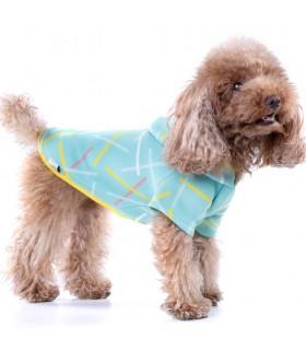 Chispa Green Neosticks Dog Hoodie