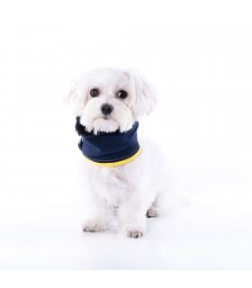 Cuello Bufanda para perro Uoamy Jean Azul