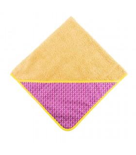 Mandy Mustard Bath Cape Towel