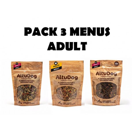 Altudog Food Packs